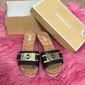 Mk shoes brand new come with box never used
